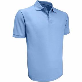 Chemises Escolar Azul Tallas S, M, L