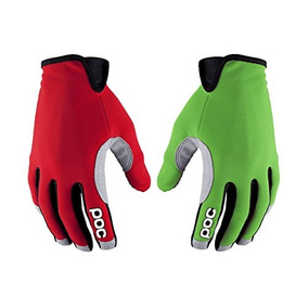Poc Sports Index Air Glove Thallium Green / Bohrium Red M...