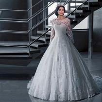 Vestido De Noiva Sob Confecção Importado