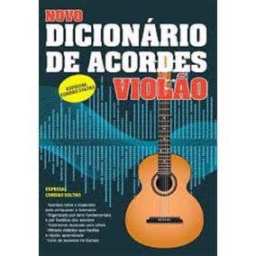 Livro Novo Dicionário De Acordes Violão