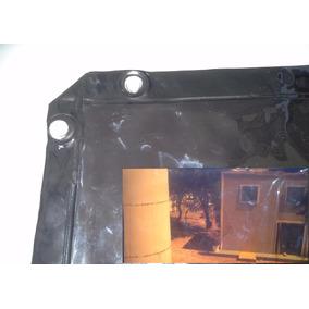 Cortina De Solda Pvc Marron (fumê) 1,22 X 1,78 X 0,4mm