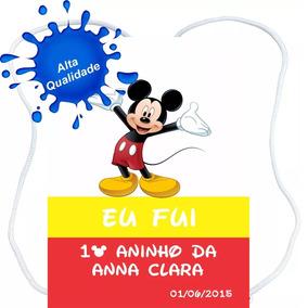 50 Mochilinhas Sacolinhas Personalizado Lembrancinhas Mickey