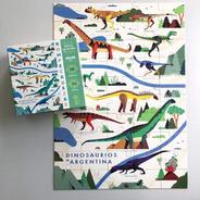 Rompecabezas  Extra Grande Dinosaurios Para Niños