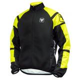 Jaqueta Ciclismo Corta Vento Acid Preta/amarela Free Force