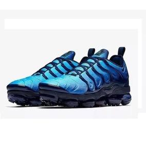 Tênis Nike Branco Bolha - Nike para Masculino Azul no Mercado Livre ... 517b9670d1200