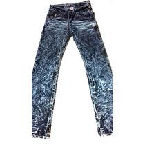 Pantalon-jeans Marca True Religion T-30 Straight Deslavado