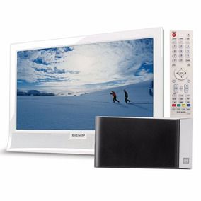 Tv Led 14´ Semp Le1473 Hd Conversor Digital + Antena Amplif.