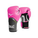 Guantes De Box Everlast Pro Style Rosa 8 Y 12 Oz