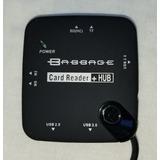 Adaptador Hub Usb Otg Lector De Memorias P/tablets Celulares