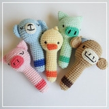 Sonajero Amigurumi. Tejido A Crochet, Amigurumis