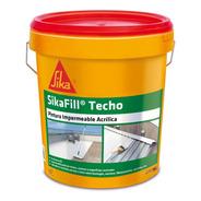 Sikafill Techos, Pintura Impermeable 18 Lts
