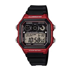 Relógio Masculino Casio Digital Esportivo Ae-1300wh-4av