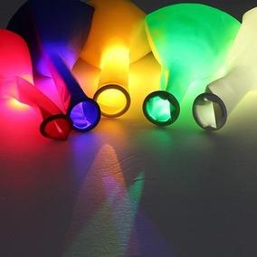 Globo Con Luz Led Multicolor En Secuencia Re-utilizable