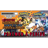 Pokémon A Pedido Ultrasunn/moon Ultrasol/luna 6ivs Compet