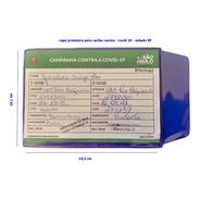 Capa Protetora Para Cartão Vacina Sp  2 Peças