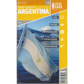 Mapa Rodoviário Da Argentina Dobrável