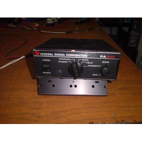 Sirena Federal Signal Pa300 100watt Con Priority