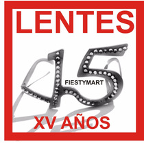 Lente Fiesta Quince Años Xv Dj Quinceañera Baile Antifaz