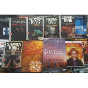 Colecão Com 7 Livros E 1 Dvd Brinde Do Stephen King
