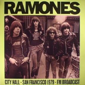 Vinilo Lp The Ramones City Hall San Francisco 1979 Nuevo