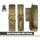 Bolso Portareplica Rifle Coyote Militar Maleta