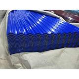 Lamina Techo Azul Zinc Galvanizada De 1,80x90 0,18mm Detal