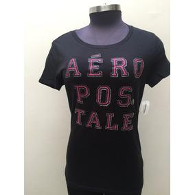 Camiseta Aeropostale Dama Talla L/g