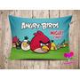 Almofada Personalizada Angry Birds - 10 Unidades
