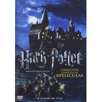 Harry Potter Coleccion Completa Peliculas 1 - 8 Boxset Dvd