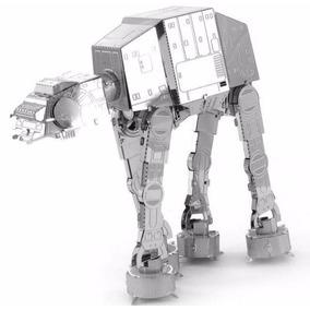 Quebra Cabeça 3d De Metal - Star Wars At - At Tropa Montada