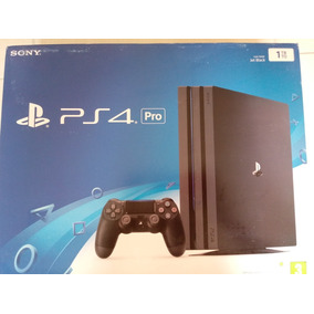 Ps4 Playstatation 4 Pro 4k 1000gb # Lacrado # 2099,00
