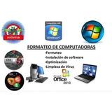 Oferta Aprende A Formatear Tu Pc, Antivirus Y Mas Regalos