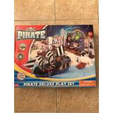 Barco Pirata Con Accesorios Juguete Plásticoplastico