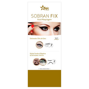 Sobran Fix Magic Color Auto Maquiagem Olho De Gato