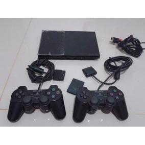 Playstation 2 Ps2, 2 Controles,2 Memory Card + 2 Pendrives