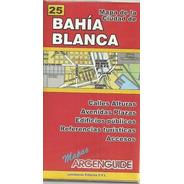 Plano De Bahia Blanca 25 Mapa De La Ciudad - Calles Alturas