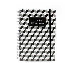 Sticky Cuaderno Memo Bn Blanco Y Negro Escritorio Morph