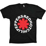 Camisas Bandas Rock - Red Hot Chili Peppers - 100%algodão