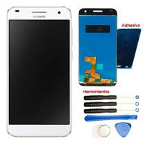Huawei G7 Pantalla Display L03 L101 + Kit + Adhesivo Blanco