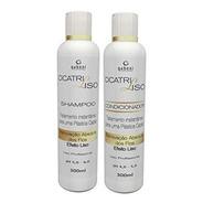 Gaboni Kit Cicatri Liso Shampoo & Cond 300ml