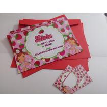 30 Convite Fotográfico 10x15 Envelope E Adesivos Aniversário