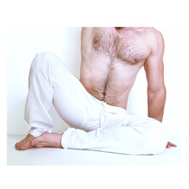 Pants Para Yoga-meditacion De Lino Hombre