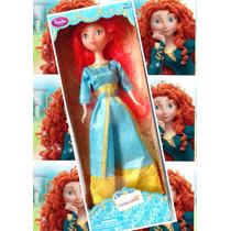 Muñeca Princesa Valiente Mérida Disney 30cm Fashion Princess