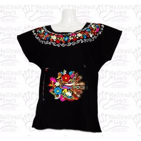 Blusas Bordadas Típicas Regionales Artesanales Colores