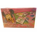 Juego De Memoria Minnie Mouse 54 Piezas
