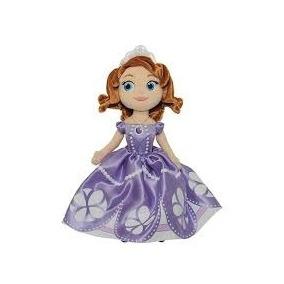 Boneca De Pelucia Princesa Princesinha Sofia Ovo De Pascoa M