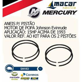 Anéis De Pistão Para Motor De Popa Johnson/evinrude 15hp +93
