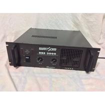 - Potencia - Amplificador - Wattson - Dbs-3000 - Impecável -