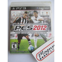 Pes 12 Pro Evolutioon Soccer 2012 Para Playstation 3 Ps3 Fut