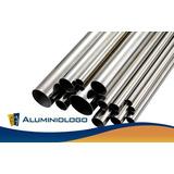 Tubo Redondo De Aluminio Nat. Brillo 1 1/2 (pulgadas)